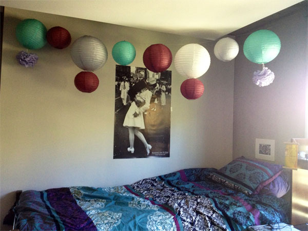 Dorm Room Paper Lanterns