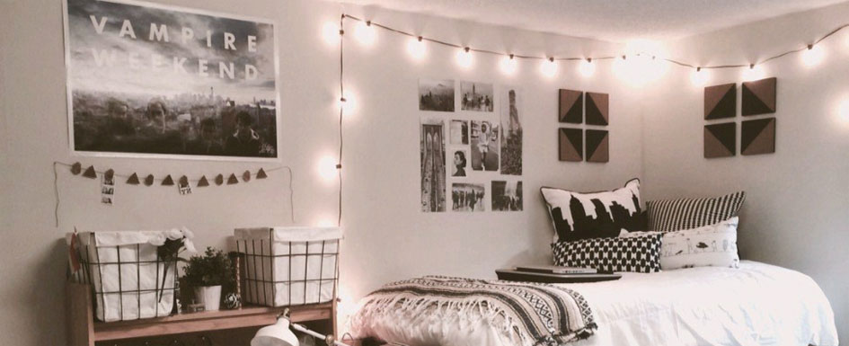 Dorm Room String Lights feature