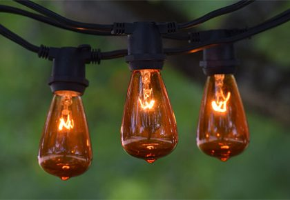 C9 Vintage String Lights