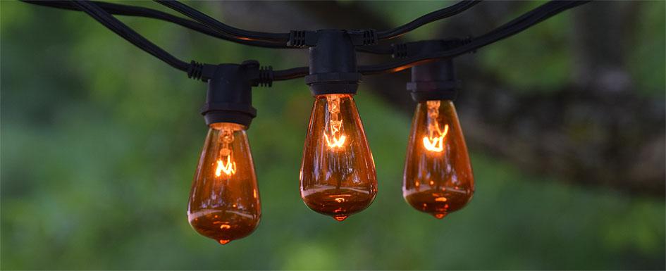 C9 Vintage String Lights