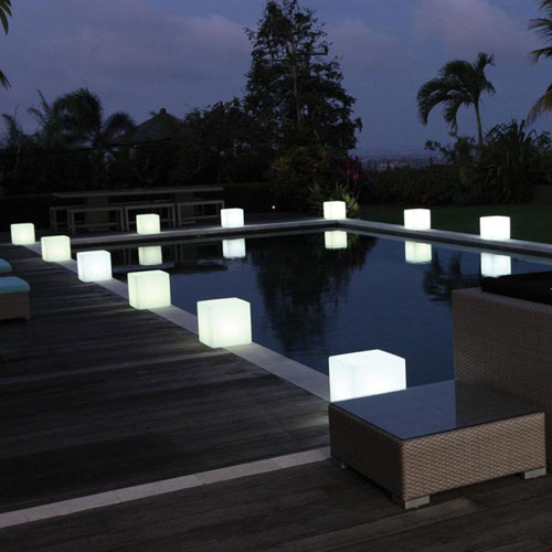 Light Cubes for Weddings and Events