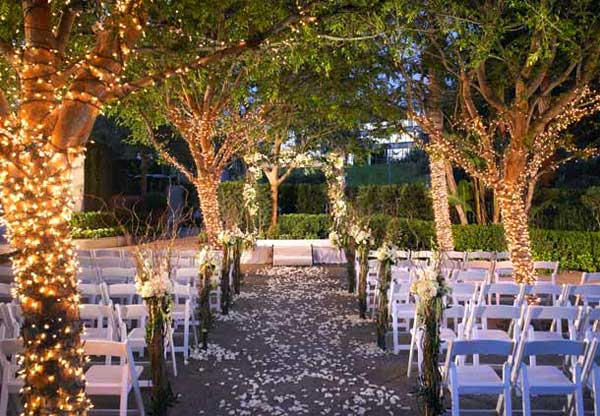 Creative Wedding Lights - Marriott