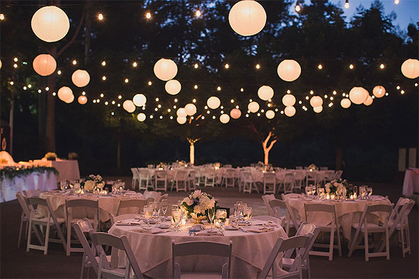 Creative Wedding Lights Mountain Gate Country Club