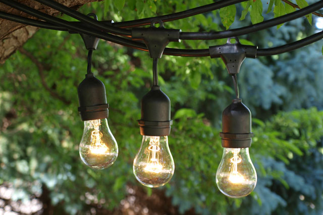 Commercial String Lights for Paper Lanterns