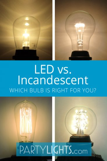 LED vs. Incandescent Bulbs