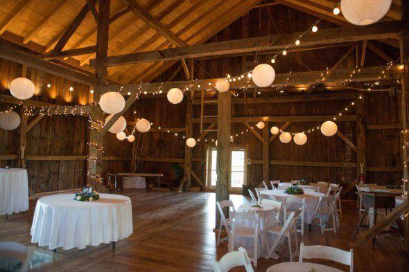 String Lights & Paper Lanterns