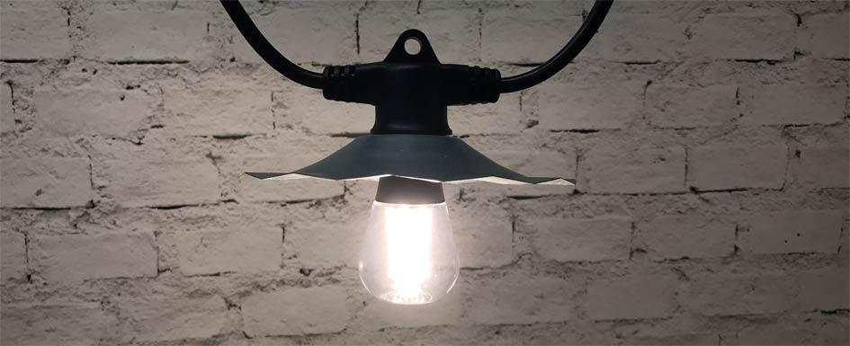 LED S19 Vintage Bulb
