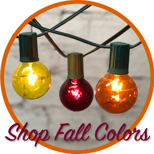 Shop Fall Party & String Lights