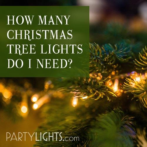 How Many Christmas Tree Lights Do I Need thumbnail