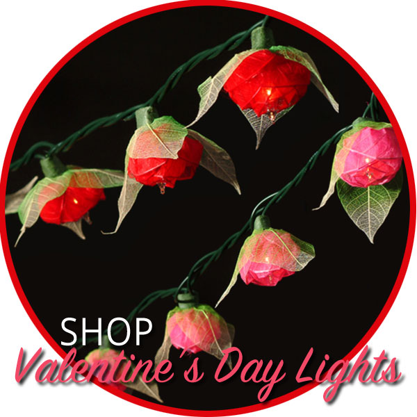 Shop Valentine's Day String Lights