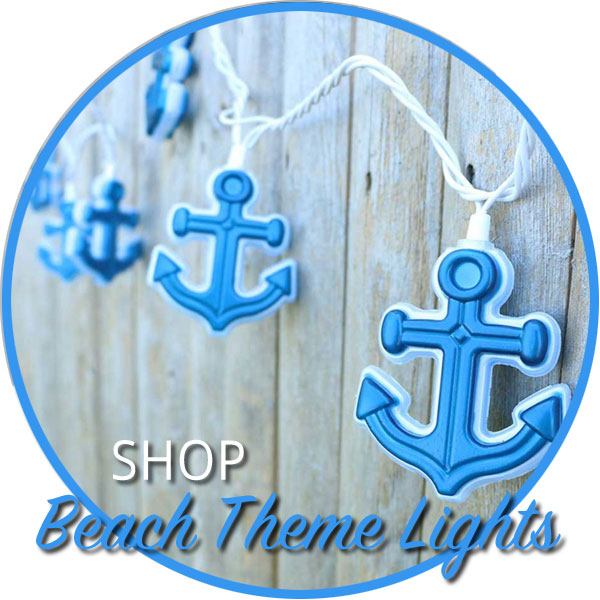 Shop Beach & Pool Theme Party Lights